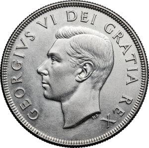 obverse: Canada.  George VI (1936-1952).. Dollar 1949