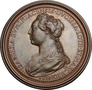 reverse: France.  Theobald II of Navarre (1239-1270), King of Navarre.. Medal