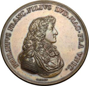 obverse: France.  Philippe (1640-1701), Duke of Orléans.. Medal