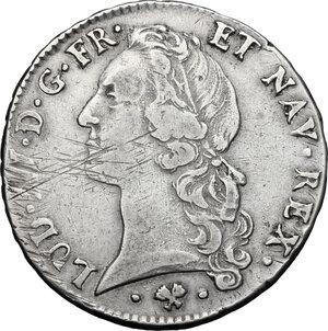 obverse: France.  Louis XV (1715-1774). Ecu au bandeau 1765 L, Bayonne mint
