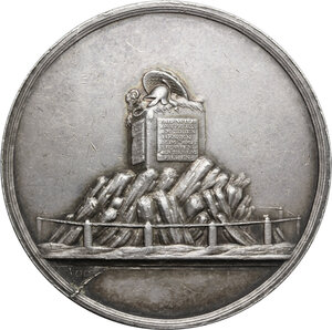 obverse: Germania, Hessen.  Wilhelm IX (1785-1803), Landgrave of Hesse-Kassel. . Medal for the reconquest of Frankfurt by Prussian and Hessian troops, 1792