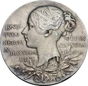reverse: Great Britain.  Victoria (1837-1901).. AR Medal. Diamond Jubilee, 1897