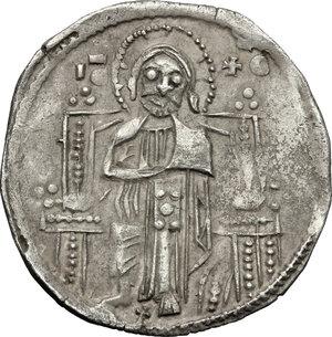 reverse: Serbia.  Stefan Urosh II Miluzin (1282-1321). . Grosh imitating the Venetian matapan