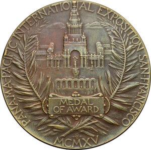 obverse: USA. Panama-Pacific International Exposition San Francisco, Medal of Award, 1915