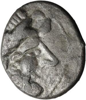 obverse: Celts in Eastern Europe. AR Tetradrachm, Kugelwange type, c. 3rd century BC