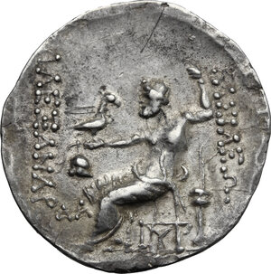 reverse: Celts in Eastern Europe.  Thrace, Mesembria. AR Tetradrachm in the name and types of Alexander III of Macedon, 150-125 BC