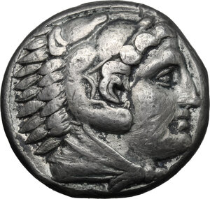 obverse: Celts in Eastern Europe. AR Tetradrachm in the name in the types of Alexander III of Macedon, c. 150-50 BC