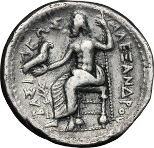 reverse: Celts in Eastern Europe. AR Tetradrachm in the name in the types of Alexander III of Macedon, c. 150-50 BC