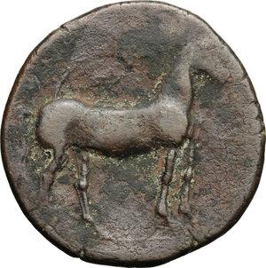 reverse: Punic Iberia. AE Unit , c. 237-209 BC