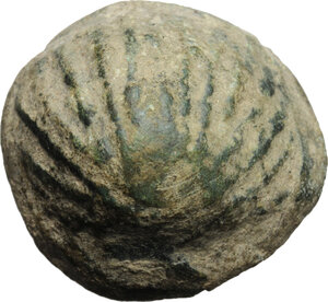 obverse: Aes Premonetale.. AE Cockle-shell, 5th-4th century BC