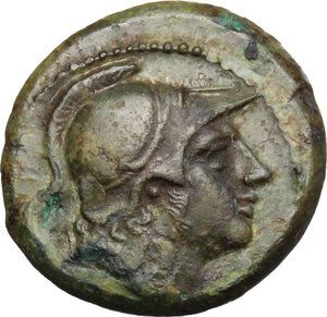 obverse: Anonymous. AE Litra, c. 241-235 BC