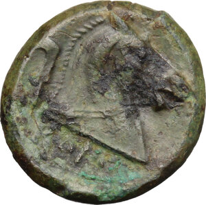 reverse: Anonymous. AE Litra, c. 241-235 BC