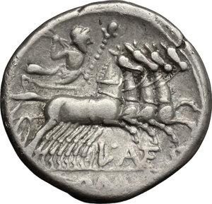 reverse: L. Antestius Gragulus.. AR Denarius, 136 BC