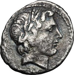 obverse: Gargilius, Ogulnius and Vergilius. . AR Denarius, 86 BC