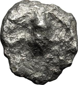 obverse: Etruria, Populonia. AR Unit (?), 4th century BC