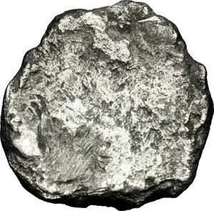 reverse: Etruria, Populonia. AR Unit (?), 4th century BC