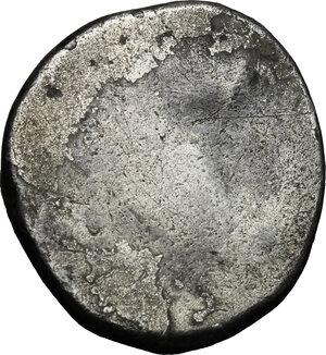 reverse: Etruria, Populonia. AR 10-Asses, 3rd century BC
