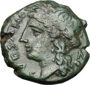 obverse: Samnium, Southern Latium and Northern Campania, Suessa Aurunca. AE 18.5 mm, c. 270-240 BC