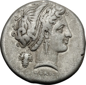 obverse: Central and Southern Campania, Neapolis. AR Didrachm, struck under Diophanes, c. 320-300 BC