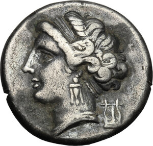 obverse: Central and Southern Campania, Neapolis. AR Didrachm, 275-250 BC