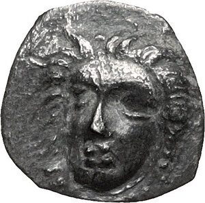 obverse: Central and Southern Campania, Phistelia. AR Obol, circa 325-275 BC