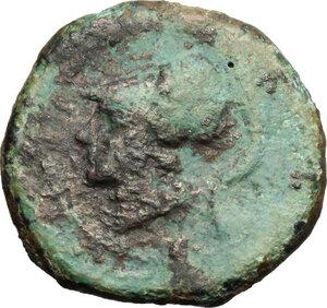 obverse: Eastern Italy, Larinum. AE 21 mm, 250-225 BC