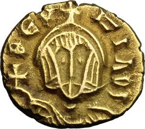 obverse: Theophilus (829-842).. AV Semissis, Syracuse mint