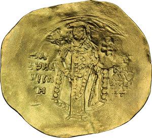 reverse: Manuel I Comnenus (1143-1180).. AV Hyperperon, Constantinople mint