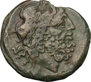 obverse: Northern Apulia, Teate. AE Nummus, c. 275-225 BC