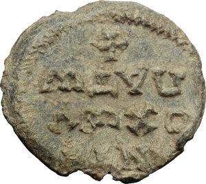 reverse: PB Seal, c. 7th-10th century