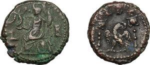 reverse: Roman Empire.. Multiple lot of two (2) unclassified BI Tetradrachms of Alexandria mint (Numerian and Diocletian)