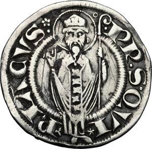 reverse: Ancona.  Autonome (XIII-XV sec.). Grosso agontano