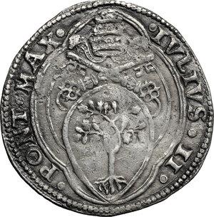 obverse: Ancona.  Giulio II (1503-1513).. Giulio