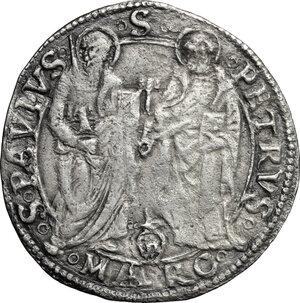 reverse: Ancona.  Giulio II (1503-1513).. Giulio