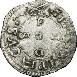 obverse: Ancona.  Anonime attribuite a Clemente VII (sec.XVI). . Bolognino o terzo di grosso