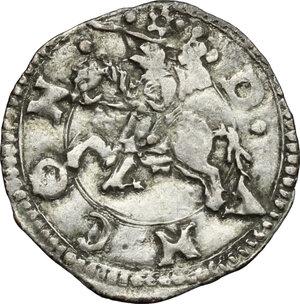 reverse: Ancona.  Anonime attribuite a Clemente VII (sec.XVI). . Bolognino o terzo di grosso
