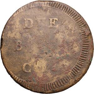 reverse: Ancona.  Repubblica Romana (1798-1799).. Due baiocchi