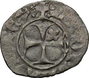 obverse: L Aquila.  Ladislao di Durazzo (1388-1414). Quattrino