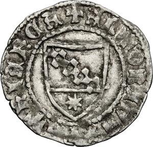 obverse: Aquileia.  Antonio II Panciera (1402-1411). Denaro
