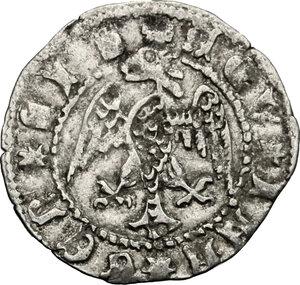 reverse: Aquileia.  Antonio II Panciera (1402-1411). Denaro