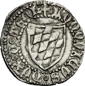 obverse: Aquileia.  Ludovico II di Teck (1412-1420). Denaro