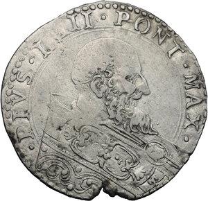 obverse: Bologna.  Pio IV (1559-1565). Bianco