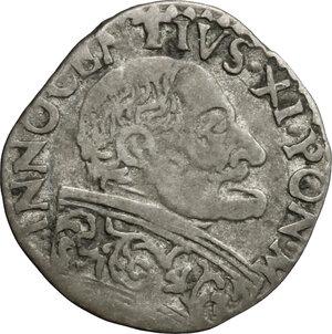 obverse: Bologna.  Innocenzo XI (1676-1689). Muraiola