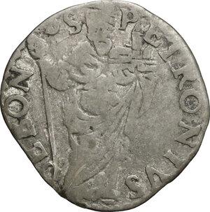reverse: Bologna.  Innocenzo XI (1676-1689). Muraiola