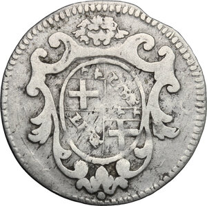 obverse: Bologna.  Clemente XII (1730-1740).. 5 bolognini 1738