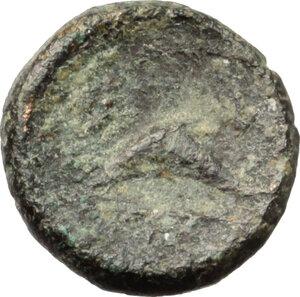reverse: Southern Apulia, Brundisium. AE 1/8 Uncia, c. 215 BC