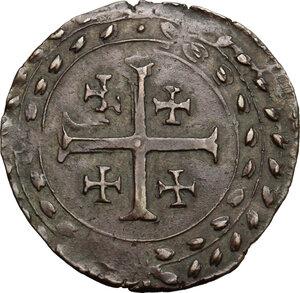 reverse: Casale.  Ferdinando Gonzaga (1616-1626). Grosso