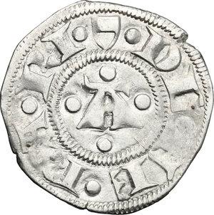 obverse: Ferrara.  Niccolò III d Este (1393-1441).. Marchesano grosso o bolognino