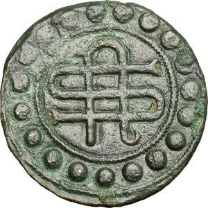 reverse: Firenze. Tessera mercantile, XIV sec