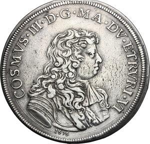 obverse: Firenze.  Cosimo III de  Medici (1670-1723). Piastra 1676